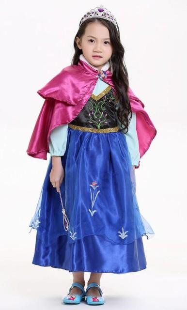 ハロウィン衣装 子供用 KIDS キッズ グリム童話アナと雪の女王 プリンセス♪ハロウィーン用品 コスプレ ハロウィン 衣装