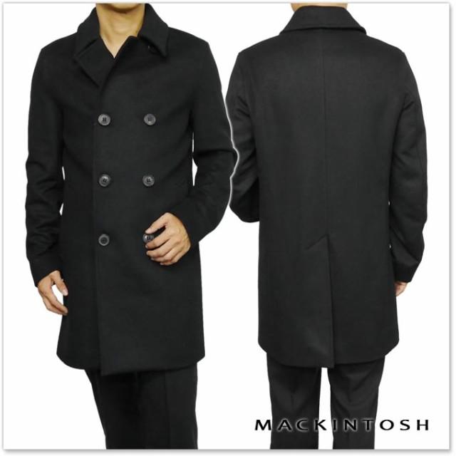 【セール 40%OFF!】MACKINTOSH マッキントッシュ メンズロングPコート GM-016 DU01 ブラック