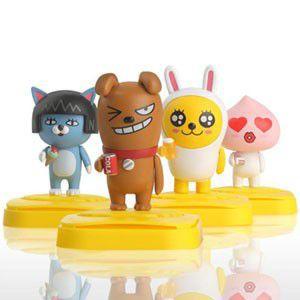 (先払いのみ)韓国キャラクターグッズ KAKAO FRIENDS(カカオ・フレンズ)カカオトーク フィギュア 芳香剤(4.5ml/4種1択)