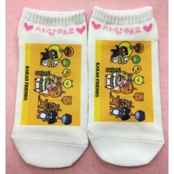【送料無料・ラッピング無料】 カカオフレンズ KAKAO FRIENDS 靴下 くつ下 ソックス 韓国雑貨 tq012-1