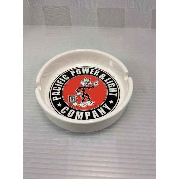 ラウンド灰皿(REDDY KIROWATT ) アッシュトレイ 喫煙具 ガレージ灰皿 アメリカン雑貨 アメリカ雑貨