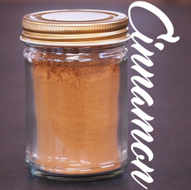 シナモンパウダー 瓶詰