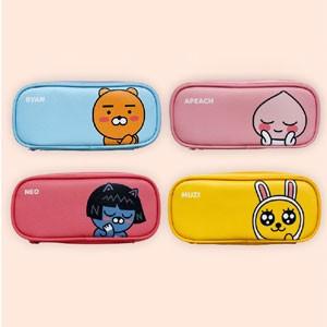 (先払いのみ) 韓国キャラクターグッズ KAKAO FRIENDS(カカオフレンズ) マルチ ペンシル ペンケース 筆箱(4種1択)
