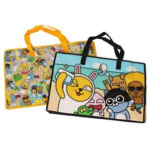 (先払いのみ) 韓国キャラクターグッズ KAKAO FRIENDS(カカオ・フレンズ) 不織布 ショッピングバッグ(大型/2種1択)