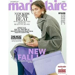 韓国女性雑誌 marie claire(マリ・クレール) 2017年 9月号 (キム・ジウォン、チョン・ウヒ、チョン・ジヒョン、ヤン・セジョン記事)