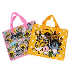 (先払いのみ) 韓国キャラクターグッズ KAKAO FRIENDS(カカオ・フレンズ) 不織布 ショッピングバッグ(中型/2種1択)