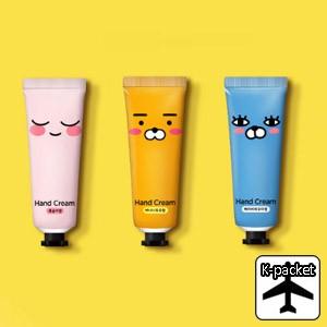 【代引き不可、韓国直送】 韓国コスメ KAKAO FRIENDS(カカオフレンズ) ハンドクリーム(50ml/3種1択)