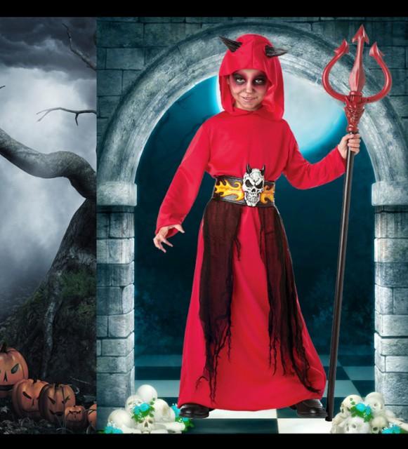 ハロウィン 衣装 紅魔ゾンビ コスプレ衣装 悪魔 キッズ 男の子 バンパイア コスチューム 悪魔 仮装 悪魔 吸血鬼 仮装
