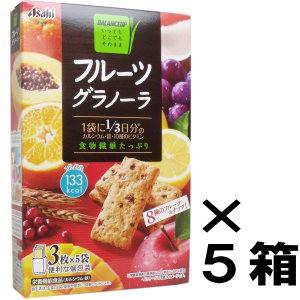 バランスアップ フルーツグラノーラ 3枚×5袋入×5箱