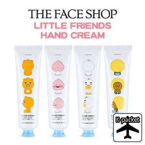 【代引き不可、韓国直送】 韓国コスメ <THE FACE SHOP X KAKAO FRIENDS> カカオフレンズ リトルフレンズ ハンドクリーム(4種1択)