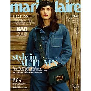 韓国女性雑誌 marie claire(マリ・クレール) 2017年 10月号 (イ・ミンギ&チョン・ソミン、コン・ユ、イ・ソジン、クォン・サンウ記事)