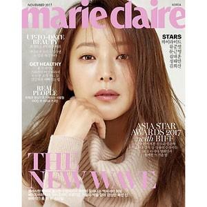韓国女性雑誌 marie claire(マリ・クレール) 2017年 11月号 (キム・ヒソン表紙/HIGHLIGHT、リュ・ジュンヨル、ムン・グニョン記事)