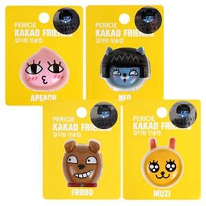 (先払いのみ)韓国キャラクターグッズ KAKAO FRIENDS(カカオ・フレンズ)カカオトーク 歯ブラシキャップ 歯ブラシ立て(4種1択)