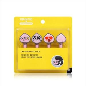 (先払いのみ)韓国生活用品 KAKAO FRIENDS(カカオフレンズ)車用 香りスティック / 芳香剤(4種1択)