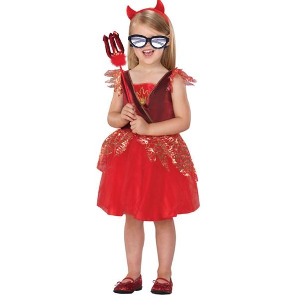 ハロウィン衣装子供女の子コスプレ 仮装 舞台演出服 悪魔・死神・幽霊仮装 紅魔 ゾンビ 妖怪キッズパーティー・イベント