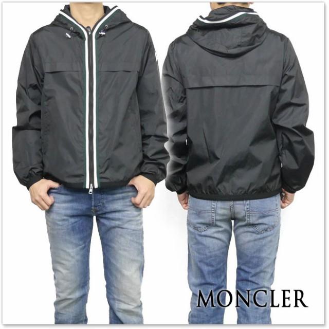 MONCLER モンクレール メンズナイロンジャケット ANTON / 41632-05-54155 ブラック /2017春夏新作