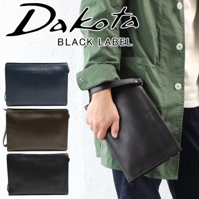 ポイント10倍 ダコタ バッグ クラッチバッグ セカンドバッグ 日本製 ブラックレーベル Dakota BLACK LABEL アクソリオ スリム 本革