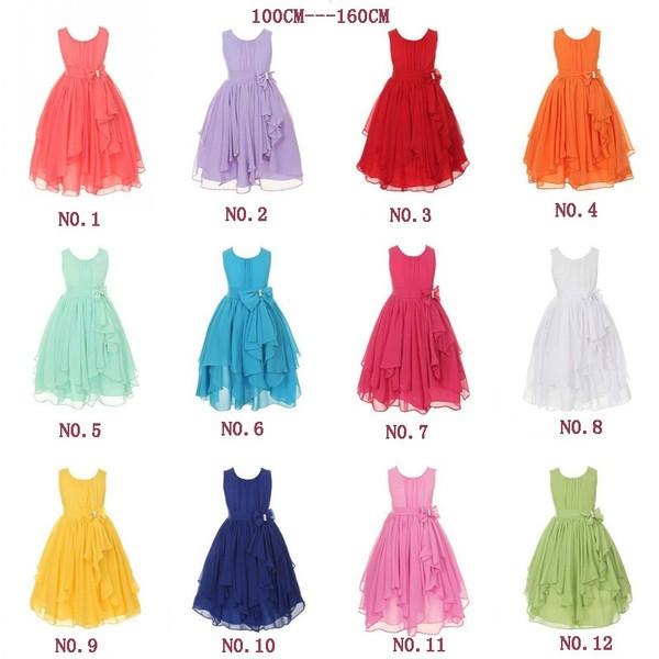 100cm-160cm 人気子供ドレス ...