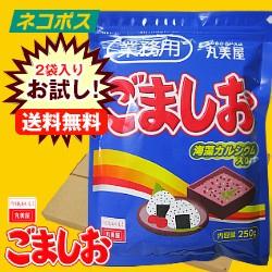 【全国送料無料】【ネコポス】【2袋】 丸美屋 ごましお(業務用) 250g×2袋入