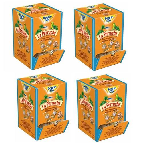 ベギャンセ ラ・ペルーシュ 角砂糖 ◯ホワイトシュガー個包装 1箱(2.5kg) 【4箱セット】 【送料無料】