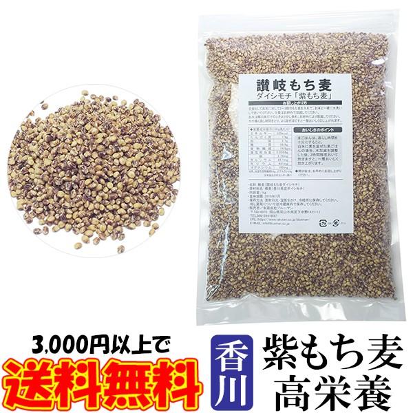 讃岐もち麦 ダイシモチ 1kg 紫もち麦ごはん 精麦済み 国産 100% 香川県産 大麦 1キロ ダイエット食品 食物繊維 業務用
