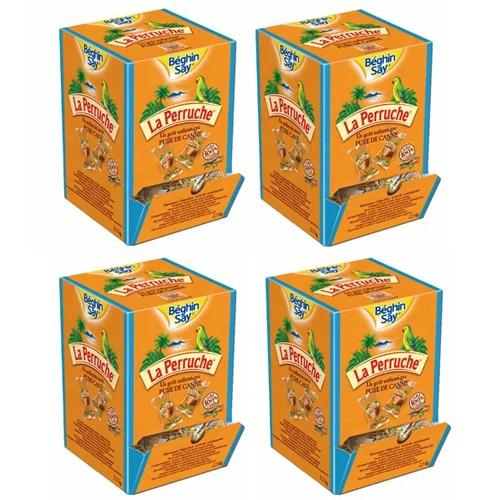 ベギャンセ ラ・ペルーシュ 角砂糖 ●ブラウンシュガー個包装 1箱(2.5kg) 【4箱セット】 【送料無料】