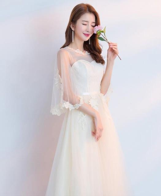 5b23336e6d94f ドレス パーティードレス 結婚式 ワンピース Aライン ベアトップ ロング 安い 花嫁 ウェディングミニドレス