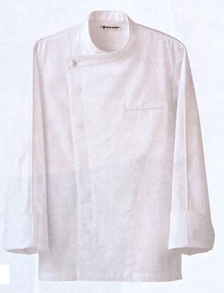ドレスコックコート BA1044-0 全1色 (厨房 調理 白衣 サービスユニフォーム セブンユニフォーム)