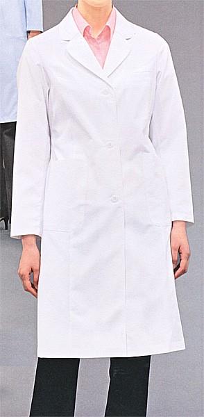 71-121-123-125 ドクターコート レディス・長袖  全3色 (看護師 ドクター ナース 介護 メディカル白衣 モンブラン MONTBLANC