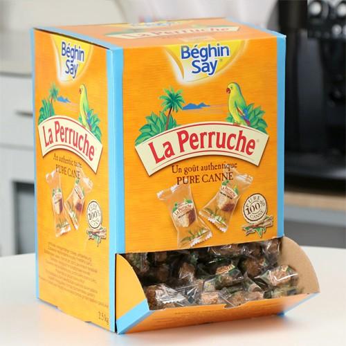 ベギャンセ ラ・ペルーシュ 角砂糖 ●ブラウンシュガー個包装 1箱(2.5kg) 【送料無料】