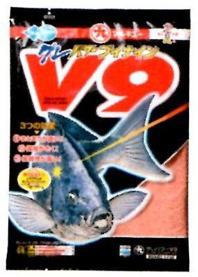釣りえさ 集魚材 【マルキュー】グレパワーV9 機能性能のバランス抜群 1.7k入り