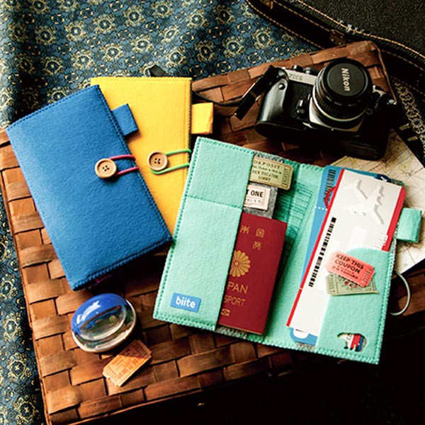 パスポートケース パスポート ケース パスポート入れ ( チケット入れ チケットケース 航空券 カード かわいい 出入国カード ビッテ パス
