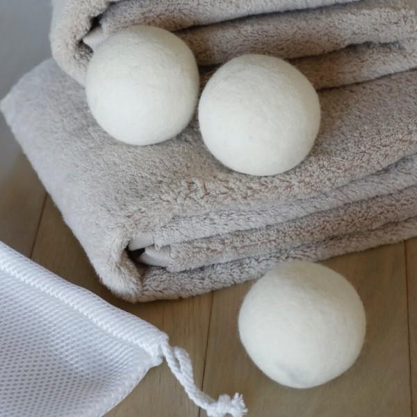 【最大1000円OFFクーポン配布中】 洗濯ボール ドライヤーボール 洗濯 速乾 乾燥 ( ウールドライヤーボール 乾燥機 ドラム式乾燥機 3個