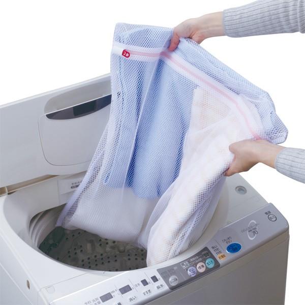 洗濯ネット AL角型洗濯ネット 大物用 ランドリーネット ( 洗濯 ネット おしゃれ着洗い 大物 ランドリー 洗濯用品 角型 60cm 60cm角 メッ