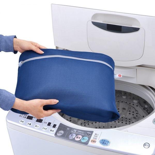 洗濯ネット 抱っこひものための洗濯ネット 抱っこひも用 ポーチ ( 洗濯 ネット 抱っこ紐 だっこひも ランドリーネット 洗濯用品 マチ付
