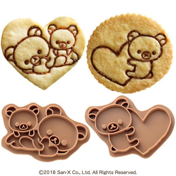 クッキー スタンプ リラックマ 型押し クッキースタンプ キャラクター ( 製菓道具 手作り お菓子作り 製菓 プレゼント かわいい ビスケ