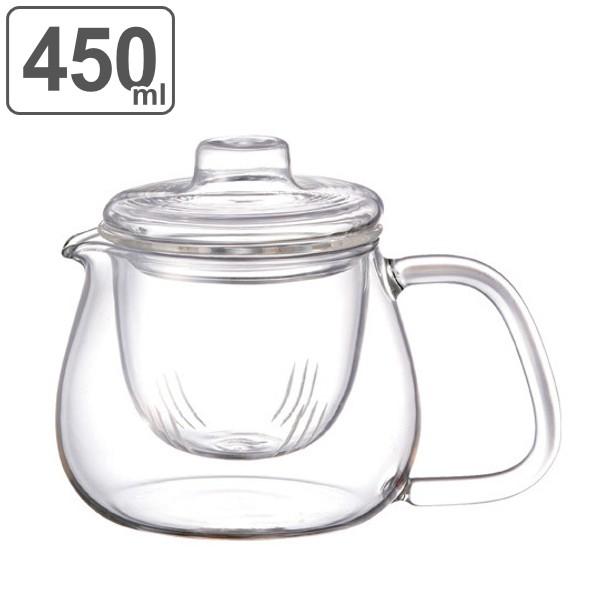 キントー KINTO ティーポット UNITEA ユニティ 500ml S 耐熱ガラス製 ガラス蓋 ( 紅茶ポット 急須 ガラスポット ポット ガラス