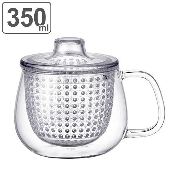 キントー KINTO ティーカップ UNIMUG ユニティ S 350ml ガラス ( 紅茶ポット 急須 ガラスポット ポット ガラス 食洗機対応 茶