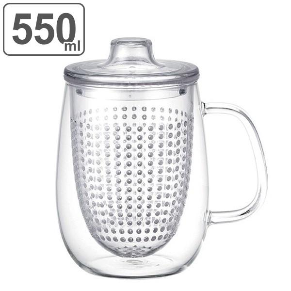 キントー KINTO ティーカップ UNIMUG ユニティ L 510ml ガラス ( 紅茶ポット 急須 ガラスポット ポット ガラス 食洗機対応 茶