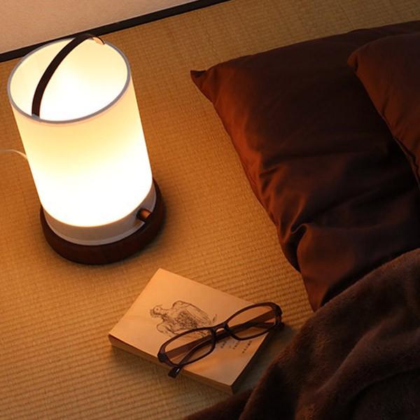 照明 テーブルランプ 無段階調光 天然木 ローブ スタンドライト ( 送料無料 ライト 間接照明 テーブルライト 照明器具 フロアライト フ