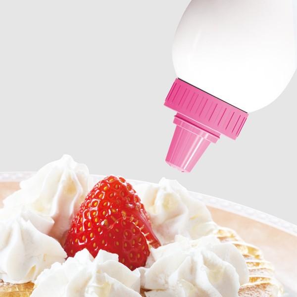 ふりふりクリームメーカー ホイップクリーム ( 生クリーム ホイップ 便利グッズ 製菓道具 お菓子作り )