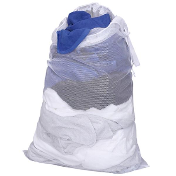 ランドリーバッグ ランドリーバッグオールメッシュタイプ 大容量 洗える 洗濯ネット バッグ 大型 大 ( 洗濯かご メッシュ ランドリーバ