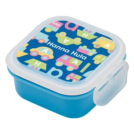 お弁当箱 デザートケース Hanna Hula ハンナフラ のりもの 子供用 ( ミニケース フルーツケース 果物入れ 弁当箱 ランチボックス