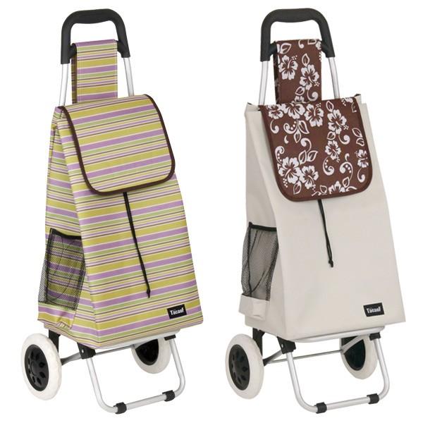 ショッピングカート 大容量 折りたたみ アルミ製 バッグ付 ( カート 折り畳み 2輪 アルミ キャリーカート ショッピングキャリー 買い物