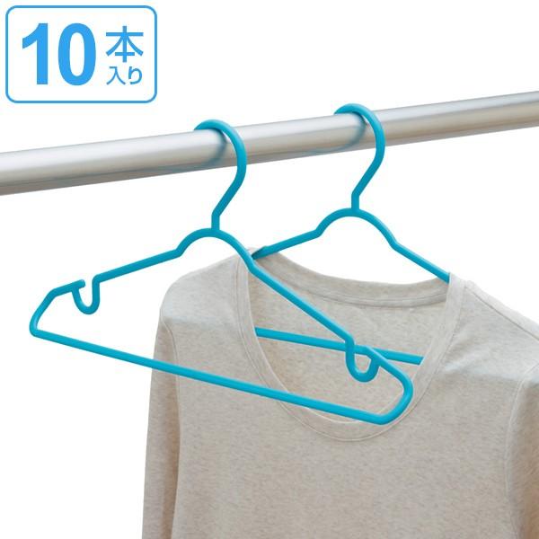 洗濯ハンガー 立体 ハンガー 10本組 ( ハンガー 洗濯 物干しハンガー プラスチック 洗濯用 洗濯物 洗濯物干し 早く乾く 乾きやすい フッ