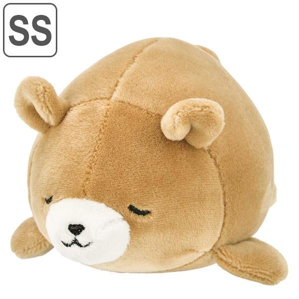 ぬいぐるみ マスコット マシュマロアニマル クマ クッキー ( ヌイグルミ 動物 アニマル くま 熊 もちもち ふわふわ 小さい 小 手乗りサ