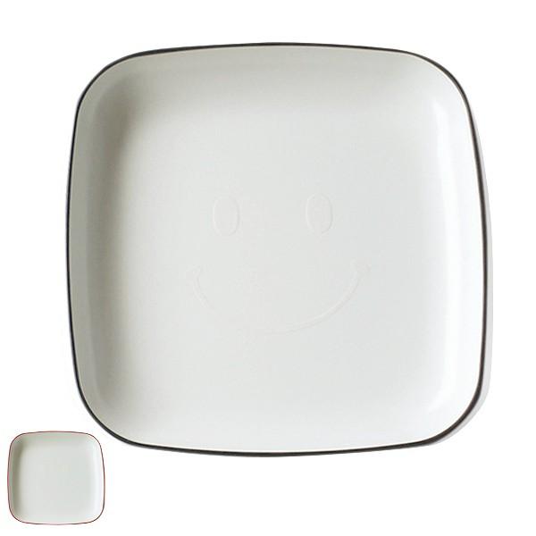 プレート 23cm Kids Style 子供用食器 皿 食器 プラスチック 日本製 ( 食洗機対応 電子レンジ対応 大皿 子供用 ランチ皿 白 ワンプレー