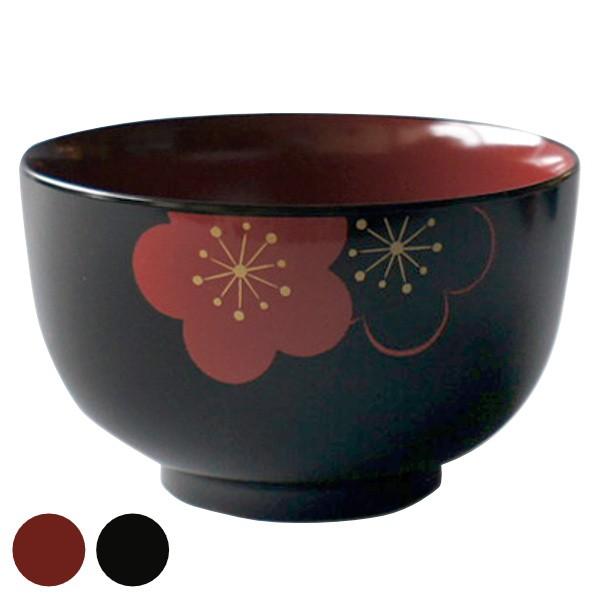 どんぶり 700ml 福梅 皿 食器 和食器 正月 プラスチック 日本製 ( 食洗機対応 電子レンジ対応 茶碗 丼 麺鉢 丼ぶり 茶椀 雑煮碗 ボウル