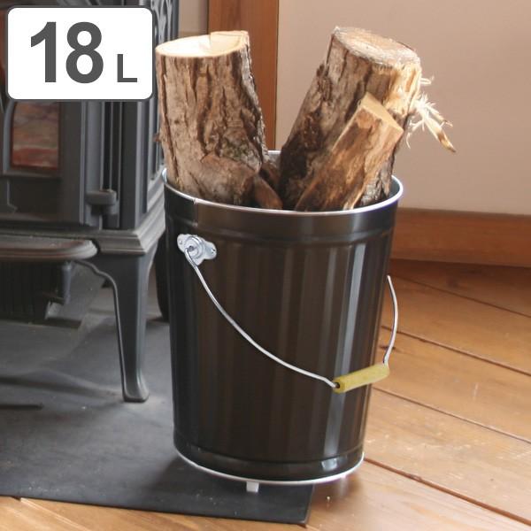 灰入れバケツ 18L 二重底 灰入れ ふた付き キャスター付き 暖炉 ゴミ箱 obaketsu オバケツ ( バケツ 灰 薪入れ 灰取り フタ付き 灰バケ