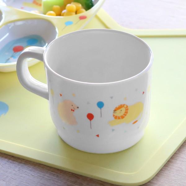 マグカップ 200ml プライマルシリーズ ANIMAL コップ メラミン樹脂 ( マグ カップ 軽い 子供 子ども用 食器 スープカップ 子供用 子ども